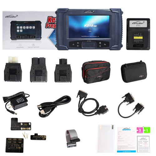 [US/UK Ship] Lonsdor K518ISE Key Programmer Plus SKE-LT Smart Key Emulator 5 in 1