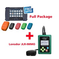 Lonsdor K518 Full Package with SKE-IT Smart Key Emulator 5 in 1 set Plus JLR IMMO Tool for JLR Key Programme