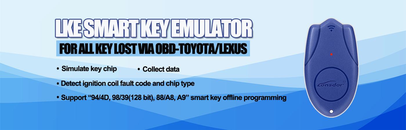 Lonsdor LKE Smart Key Emulator