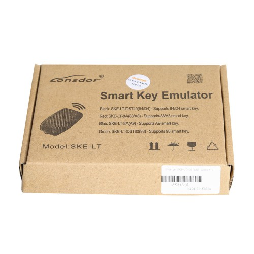 Orange SKE-LT-DSTAES 128 Bit Smart Key Emulator for Lonsdor K518ISE Support Toyota 39H Chip All Keys Lost Offline Calculation