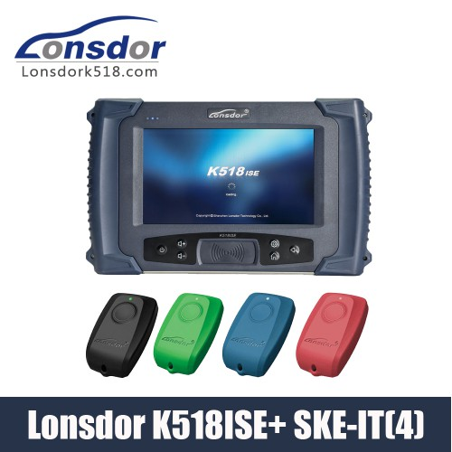 [US/UK Ship] Lonsdor K518ISE Key Programmer Plus SKE-LT Smart Key Emulator 4 in 1 set