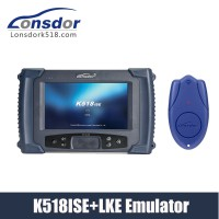 Lonsdor K518ISE Key Programmer Plus Lonsdor LKE Smart Key Emulator 5 in 1