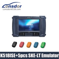 Lonsdor K518ISE Key Programmer Plus SKE-LT Smart Key Emulator 5 in 1