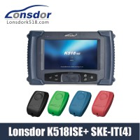[US/UK Ship] Lonsdor K518ISE Key Programmer Plus SKE-IT Smart Key Emulator 4 in 1 set