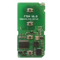Lonsdor FT04-0010 433/433.92MHz Smart Key PCB for Toyota/Lexus