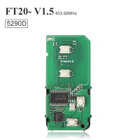 Lonsdor FT20-5290 314.35/433.92 MHz Toyota Lexus 4D Smart Key PCB