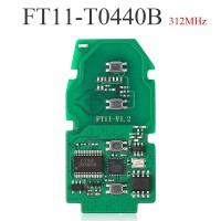 Lonsdor FT11-0440B 312/314MHz Toyota Copy Type Smart Key PCB