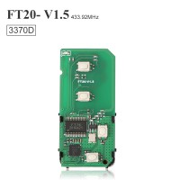 Lonsdor FT20-3370 314.35/433.92MHz Toyota 4D Smart Key PCB