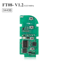 Lonsdor FT08-0440B 312/314MHz Lexus Copy Type Smart Key PCB
