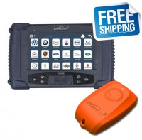 Lonsdor K518ISE Key Programmer Plus Orange SKE-LT-DSTAES 128 Bit Smart Key Emulator Support Toyota 39H Chip All Keys Lost Offline Calculation
