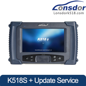 [US/EU Ship] LONSDOR K518S Key Programmer Support Toyota All Key Lost with 2 Years Free Update Online