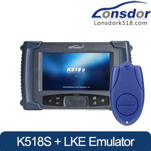 [US Ship] Lonsdor K518S Key Programmer Plus Lonsdor LKE Smart Key Emulator